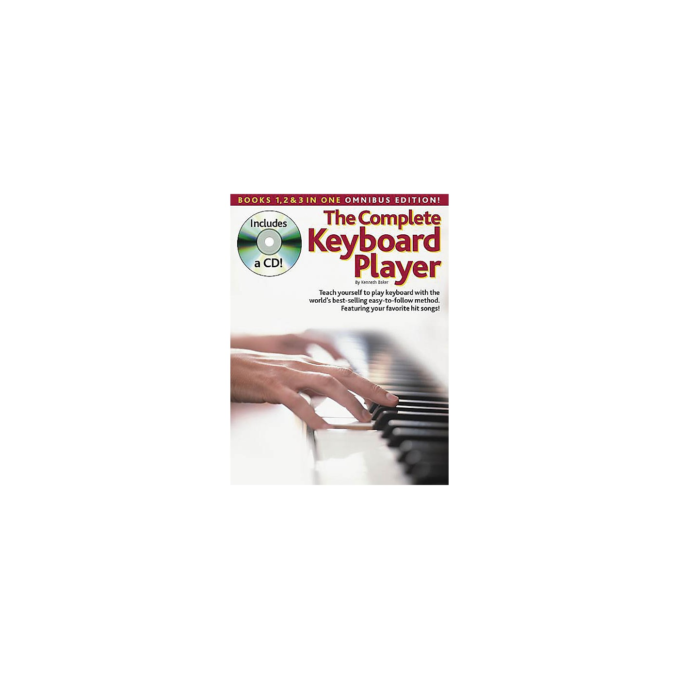 Music Sales The Complete Keyboard Player: Omnibus Edition Music Sales America Softcover with CD by Kenneth Baker thumbnail