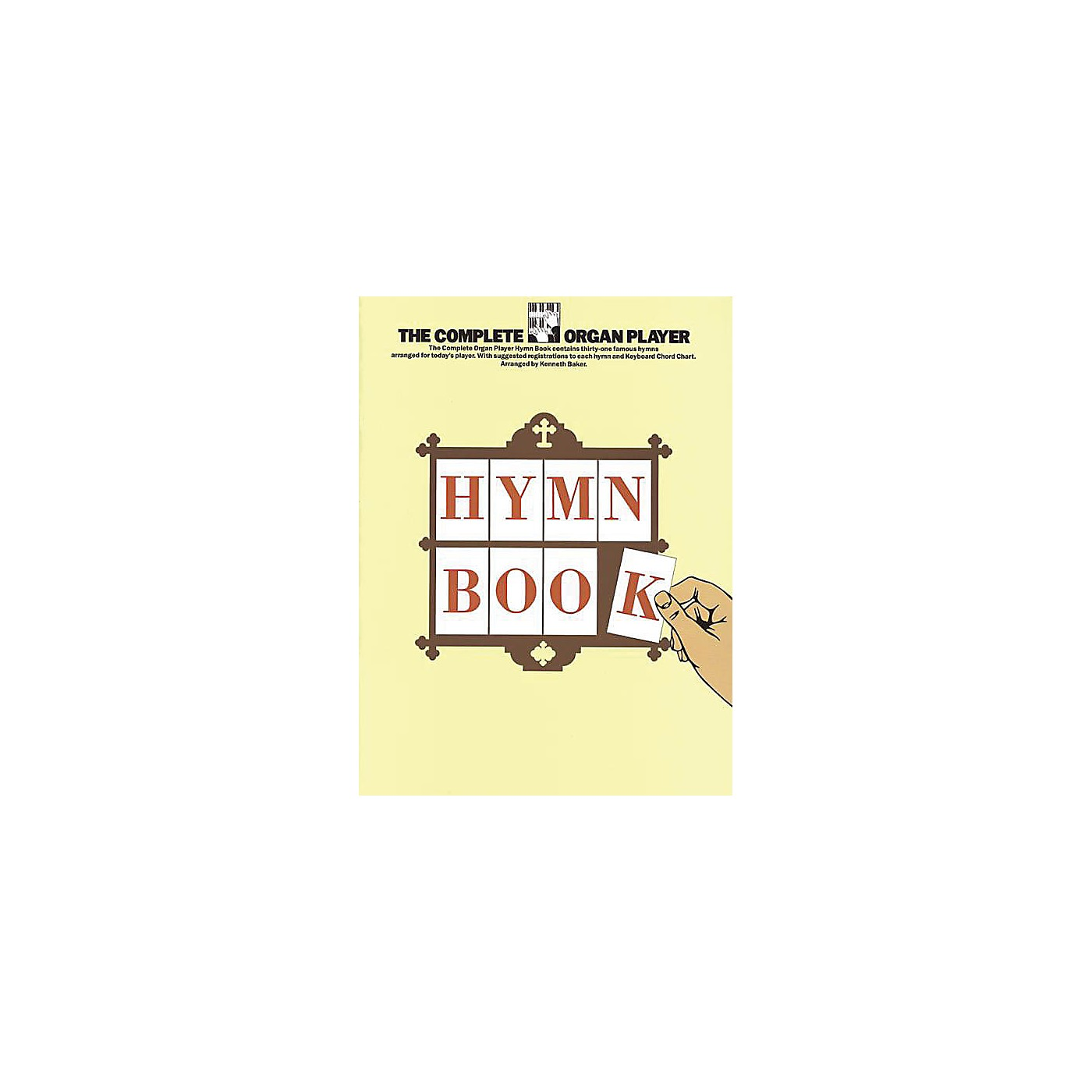 Music Sales The Complete Organ Player: Hymn Book Music Sales America Series thumbnail