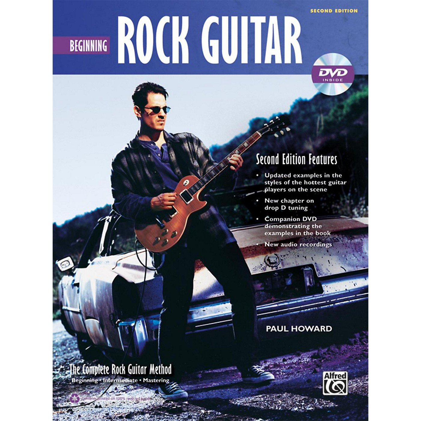 Alfred The Complete Rock Guitar Method: Beginning Rock Guitar Book & DVD (2nd Edition) thumbnail