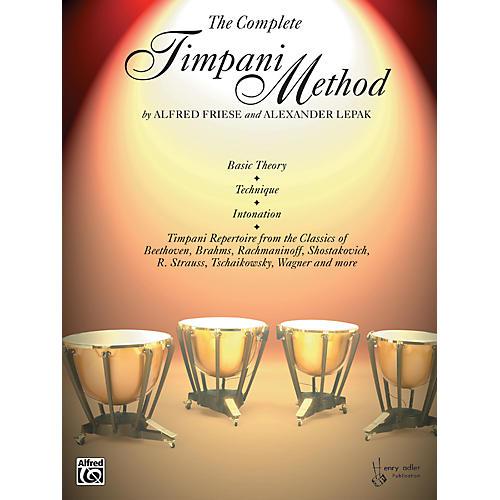 Alfred The Complete Timpani Method thumbnail