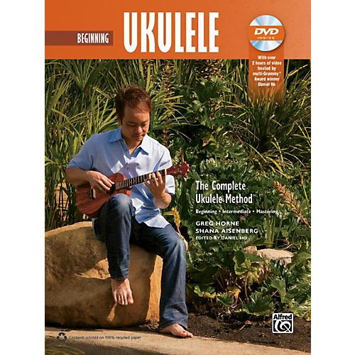 Alfred The Complete Ukulele Method: Beginner Ukulele Book & DVD thumbnail