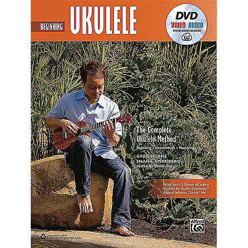 Alfred The Complete Ukulele Method: Beginning Ukulele - Book, DVD & Online Audio & Video thumbnail