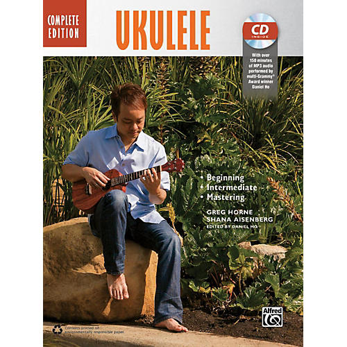 Alfred The Complete Ukulele Method: Complete Edition Book & CD thumbnail
