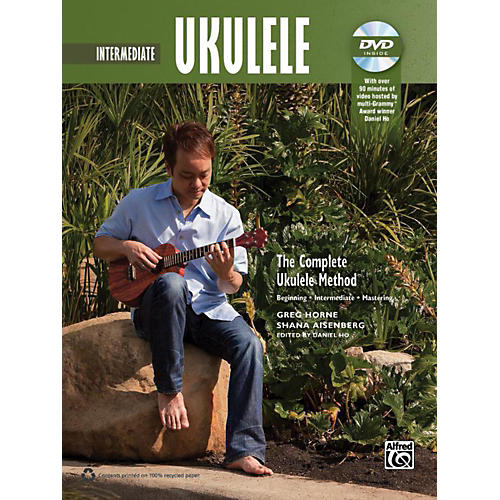 Alfred The Complete Ukulele Method: Intermediate Ukulele Book & DVD thumbnail