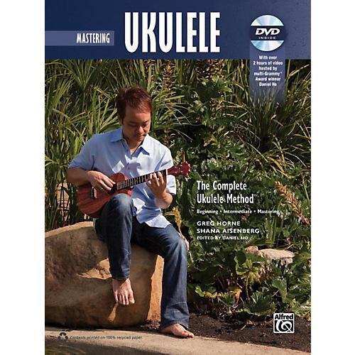 Alfred The Complete Ukulele Method: Mastering Ukulele Book & DVD thumbnail