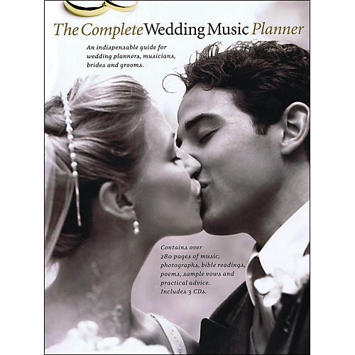 Music Sales The Complete Wedding Music Planner (Book/3-CD Pkg) arranged for piano, vocal, and guitar (P/V/G) thumbnail