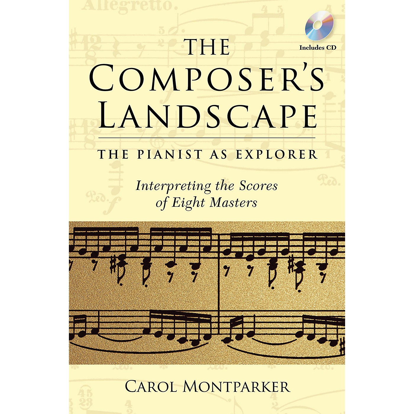 Amadeus Press The Composer's Landscape Amadeus Series Softcover with CD Written by Carol Montparker thumbnail