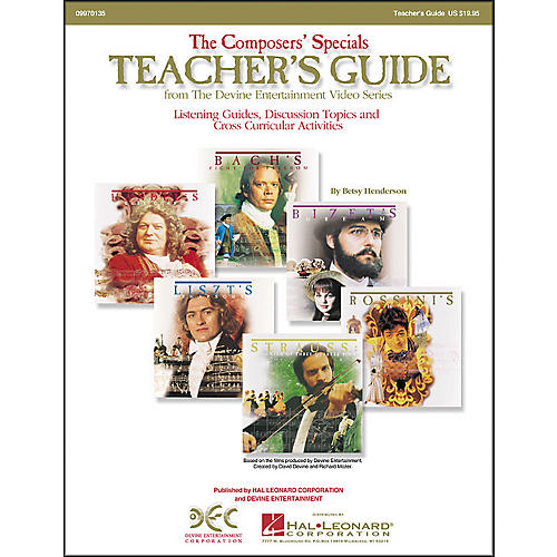 Hal Leonard The Composers' Specials: Teacher's Guide thumbnail