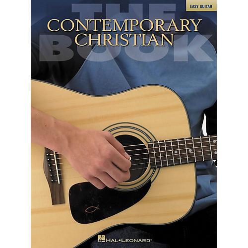 Hal Leonard The Contemporary Christian Easy Guitar Songbook-thumbnail