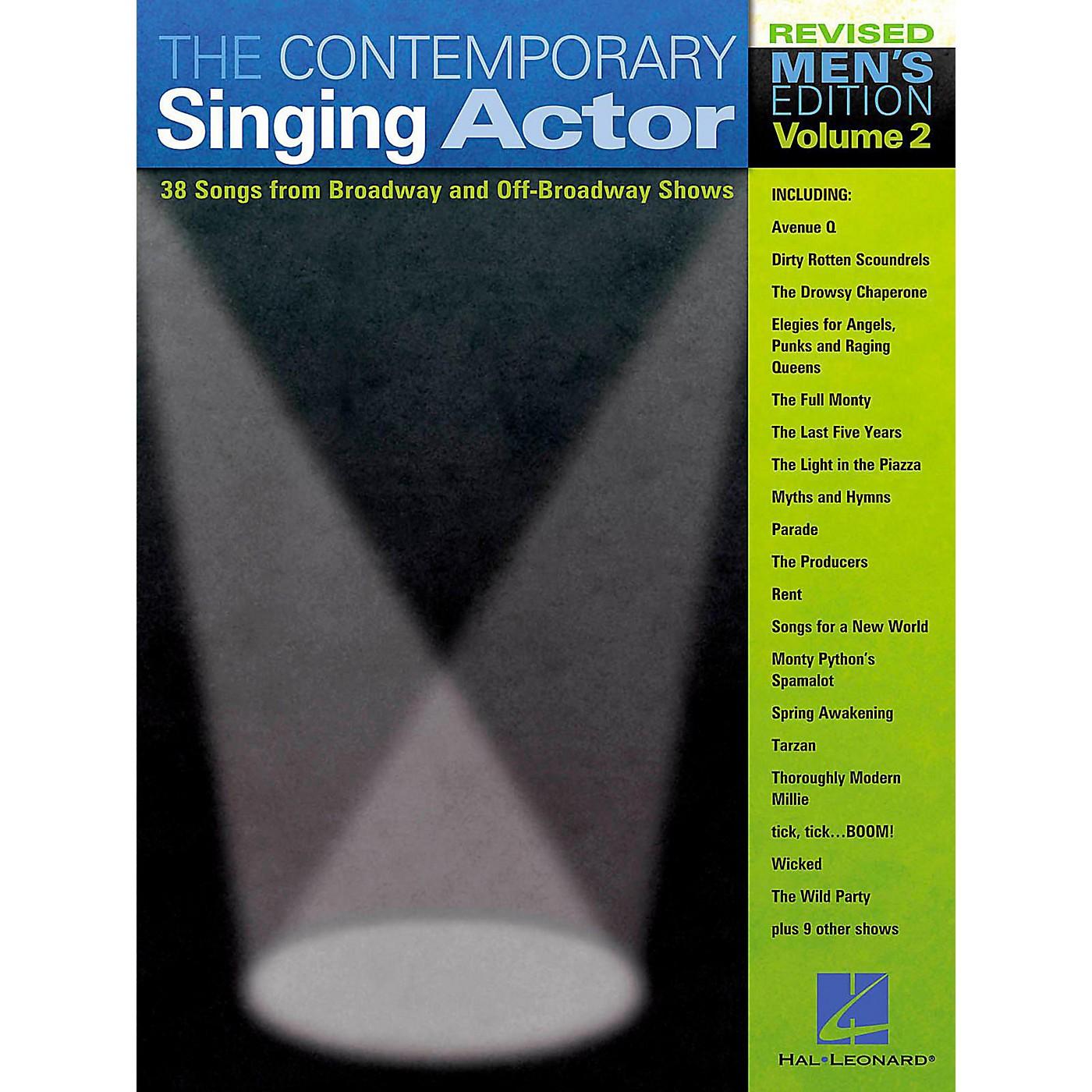 Hal Leonard The Contemporary Singing Actor - Men's Edition Volume 2 thumbnail