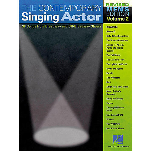 Hal Leonard The Contemporary Singing Actor - Men's Edition Volume 2 thumbnail