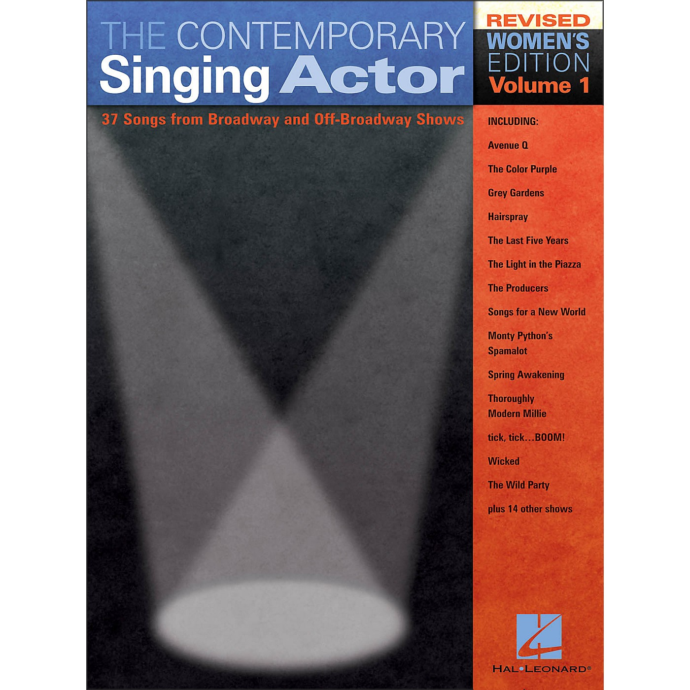 Hal Leonard The Contemporary Singing Actor - Women's Edition Volume 1 thumbnail