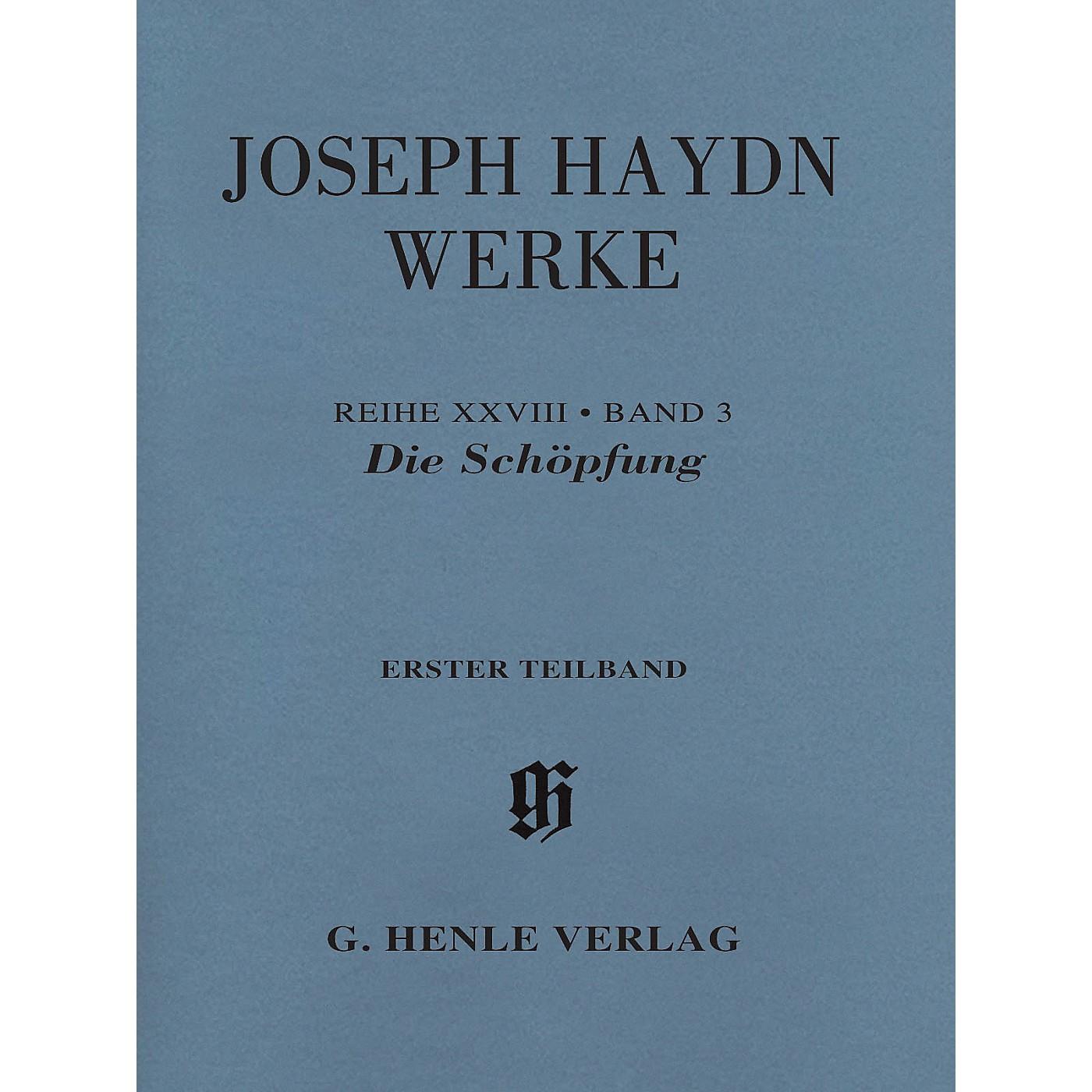 G. Henle Verlag The Creation, Hob. XXI:2 Henle Edition Softcover by Joseph Haydn Edited by Annette Oppermann thumbnail