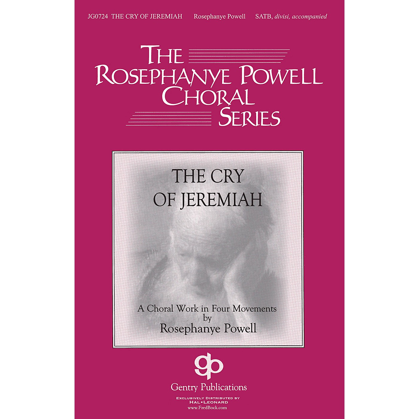 Gentry Publications The Cry of Jeremiah SATB composed by Rosephanye Powell thumbnail