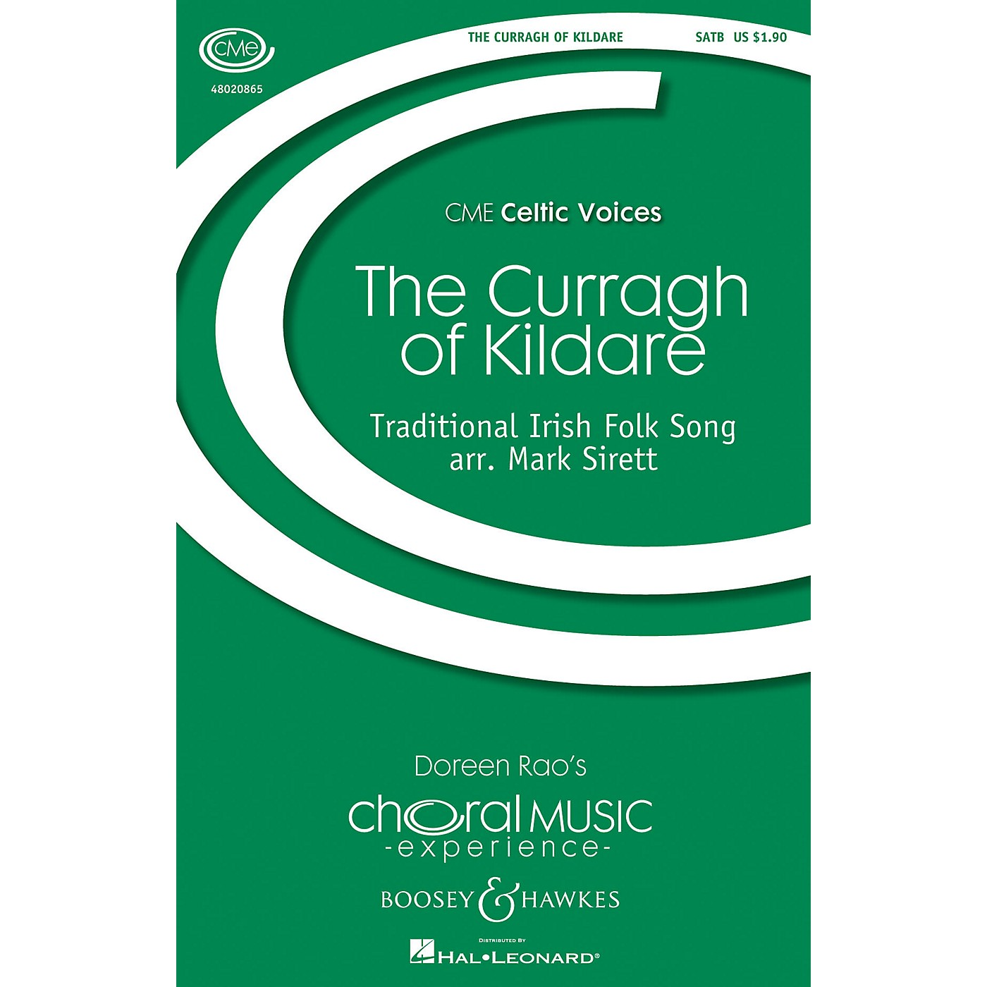 Boosey and Hawkes The Curragh of Kildare (CME Celtic Voices) SATB arranged by Mark Sirett thumbnail