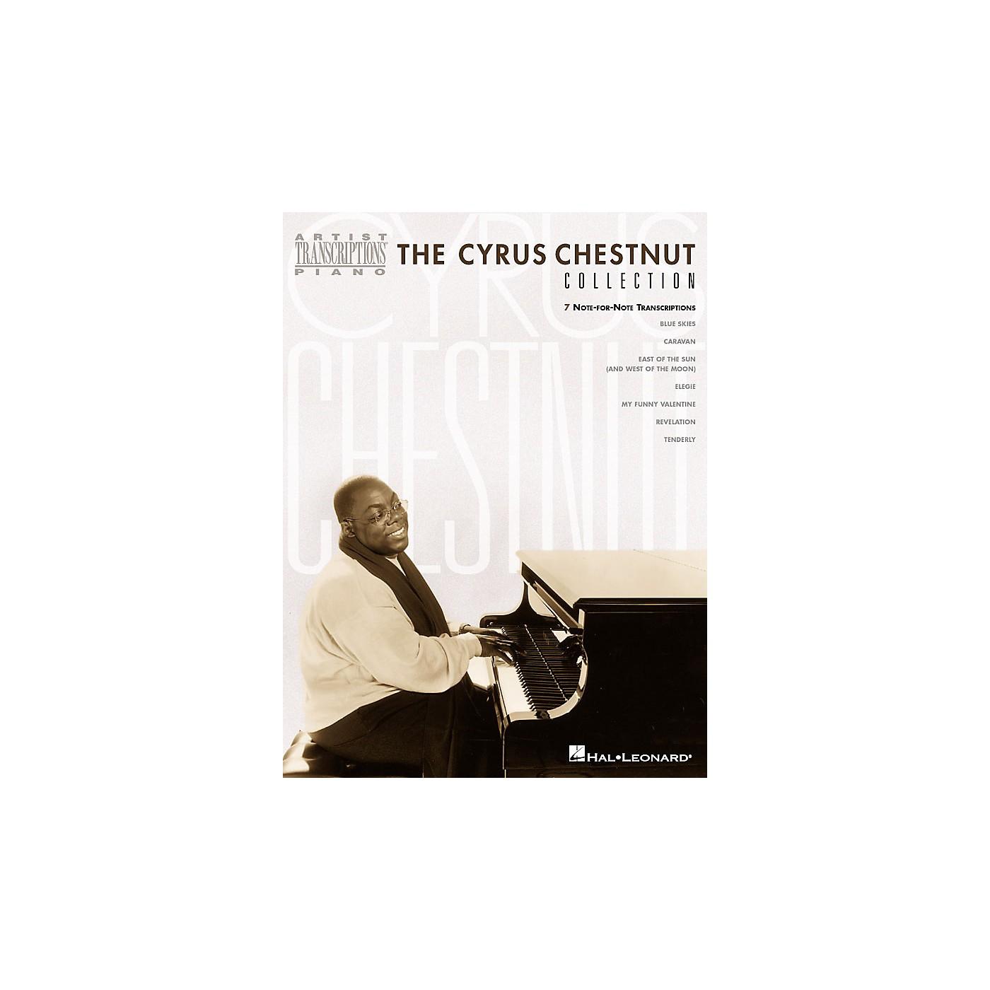 Hal Leonard The Cyrus Chestnut Collection Artist Transcriptions Series by Cyrus Chestnut (Advanced) thumbnail