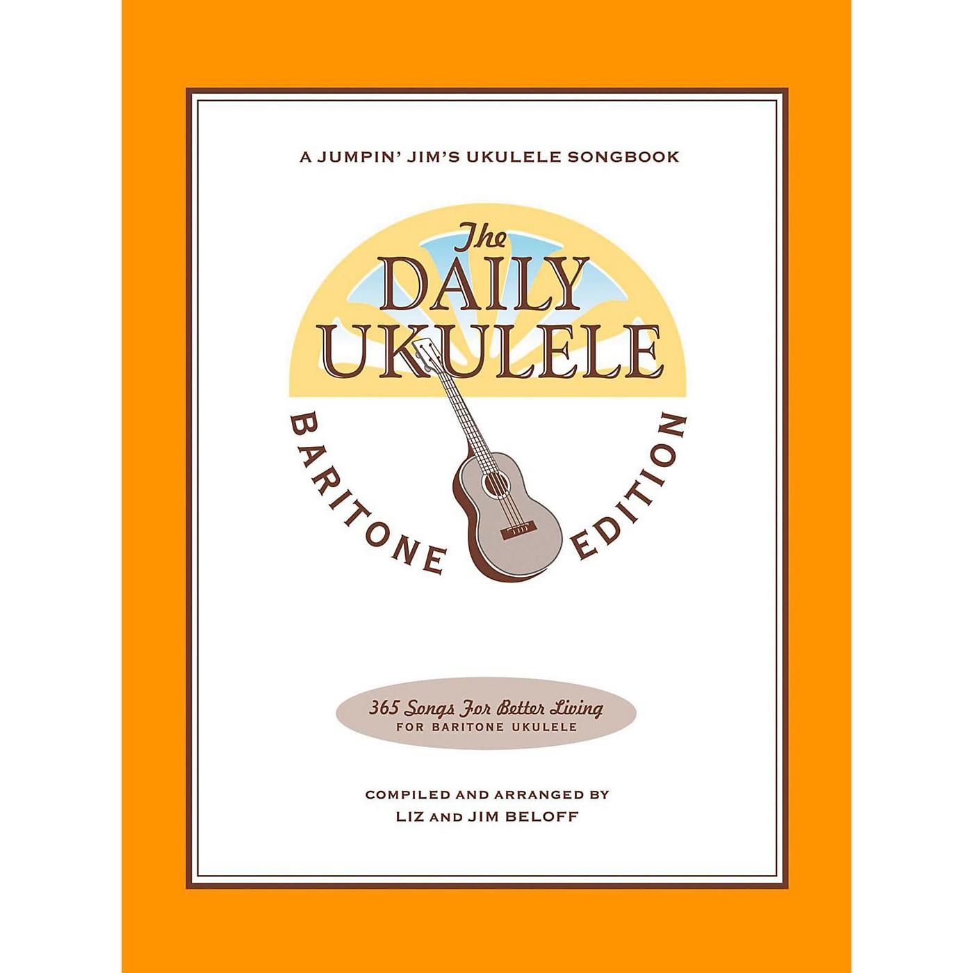 Hal Leonard The Daily Ukulele - Baritone Edition thumbnail