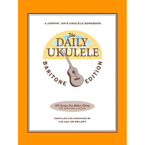 Hal Leonard The Daily Ukulele - Baritone Edition thumbnail