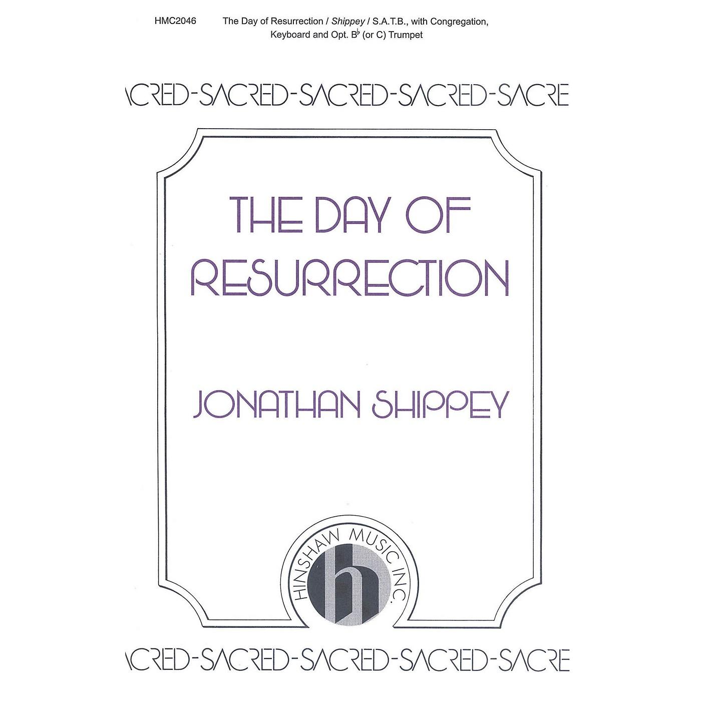 Hinshaw Music The Day of Resurrection SATB composed by Jonathan Shippey thumbnail