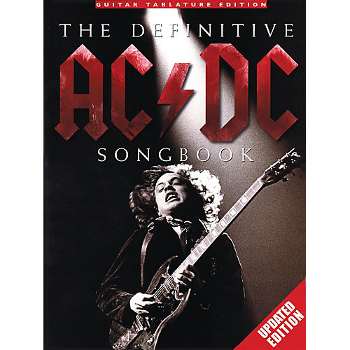 Music Sales The Definitive AC/DC Songbook (Updated Edition) Music Sales America Series Softcover Performed by AC/DC thumbnail