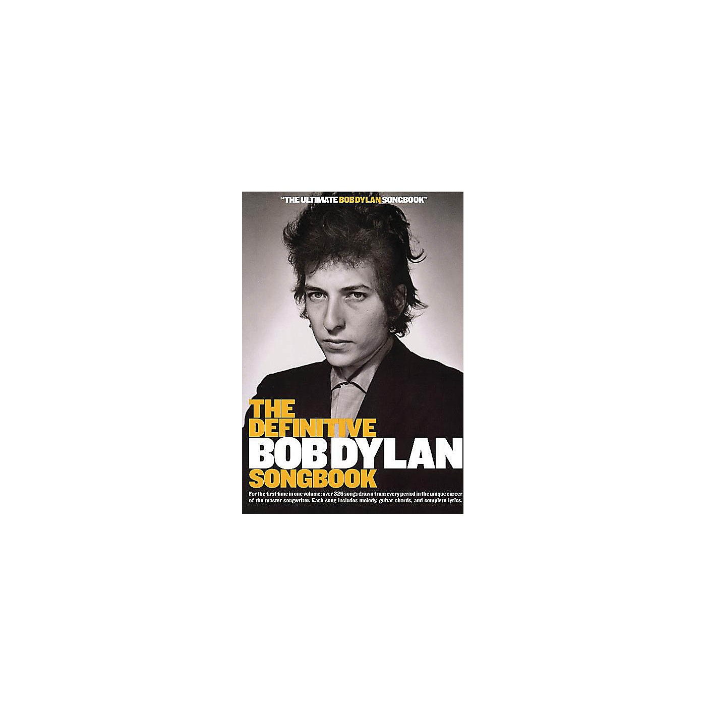 Music Sales The Definitive Bob Dylan Songbook (Small Format) Music Sales America Series Softcover by Bob Dylan thumbnail