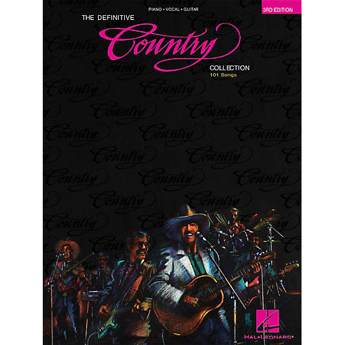 Hal Leonard The Definitive Country Collection 3rd Edition Piano, Vocal, Guitar Songbook thumbnail