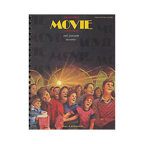 Hal Leonard The Definitive Movie Collection 2nd Edition Piano, Vocal, Guitar Songbook thumbnail
