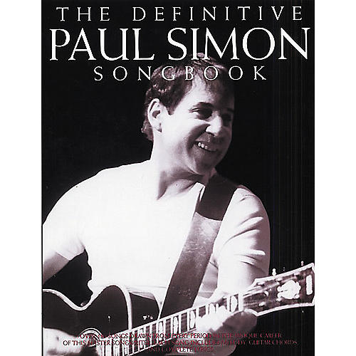 Music Sales The Definitive Paul Simon Piano, Vocal, Guitar Songbook thumbnail