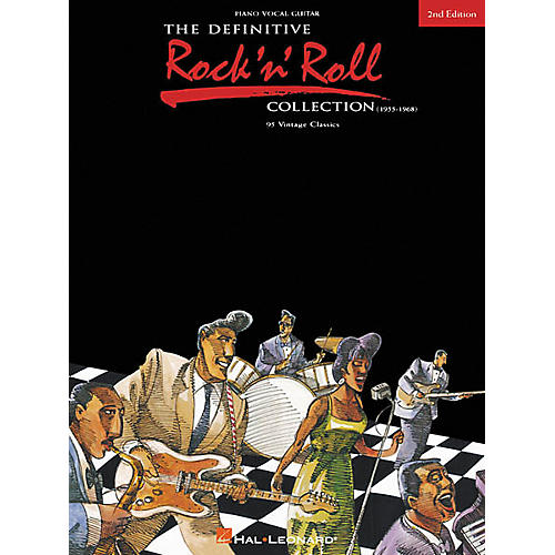 Hal Leonard The Definitive Rock 'n' Roll Collection 2nd Edition Piano, Vocal, Guitar Songbook-thumbnail