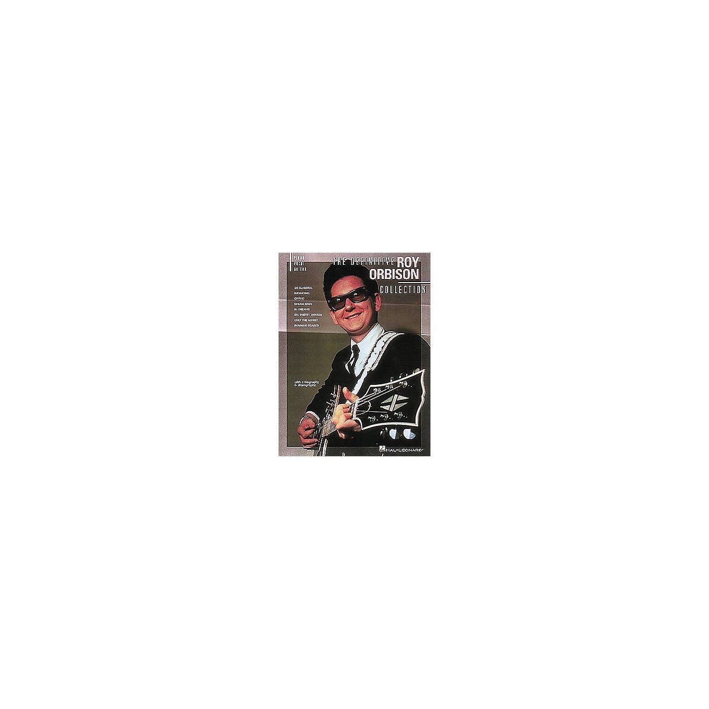 Hal Leonard The Definitive Roy Orbison Collection Songbook thumbnail