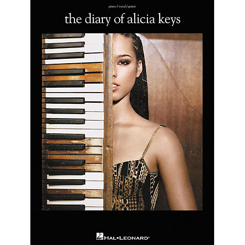 Hal Leonard The Diary of Alicia Keys Piano, Vocal, Guitar Songbook-thumbnail