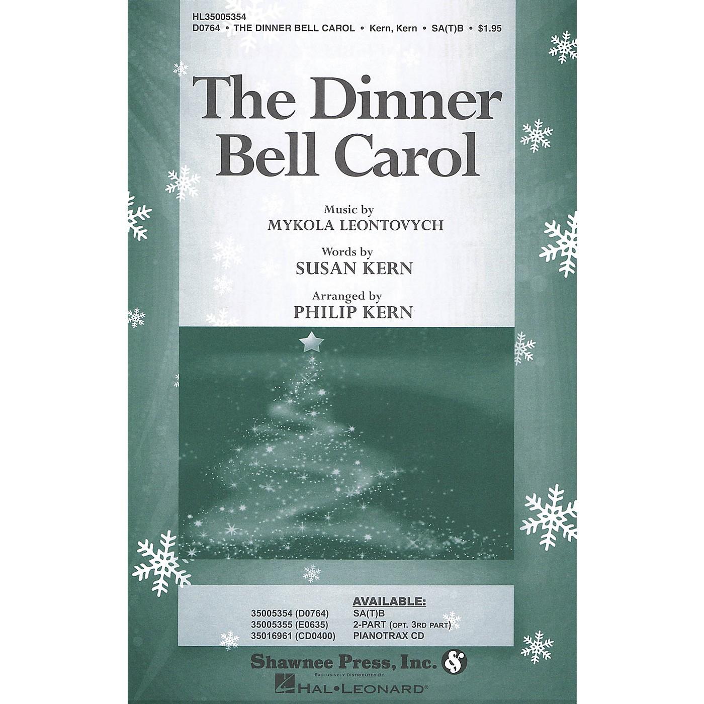 Shawnee Press The Dinner Bell Carol 2-Part Arranged by Philip Kern thumbnail