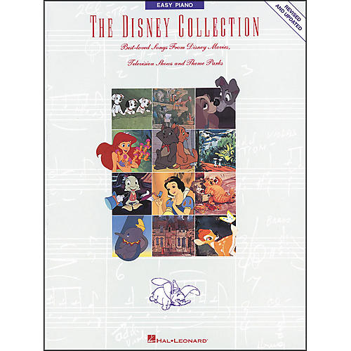 Hal Leonard The Disney Collection Revised And Updated for Easy Piano thumbnail