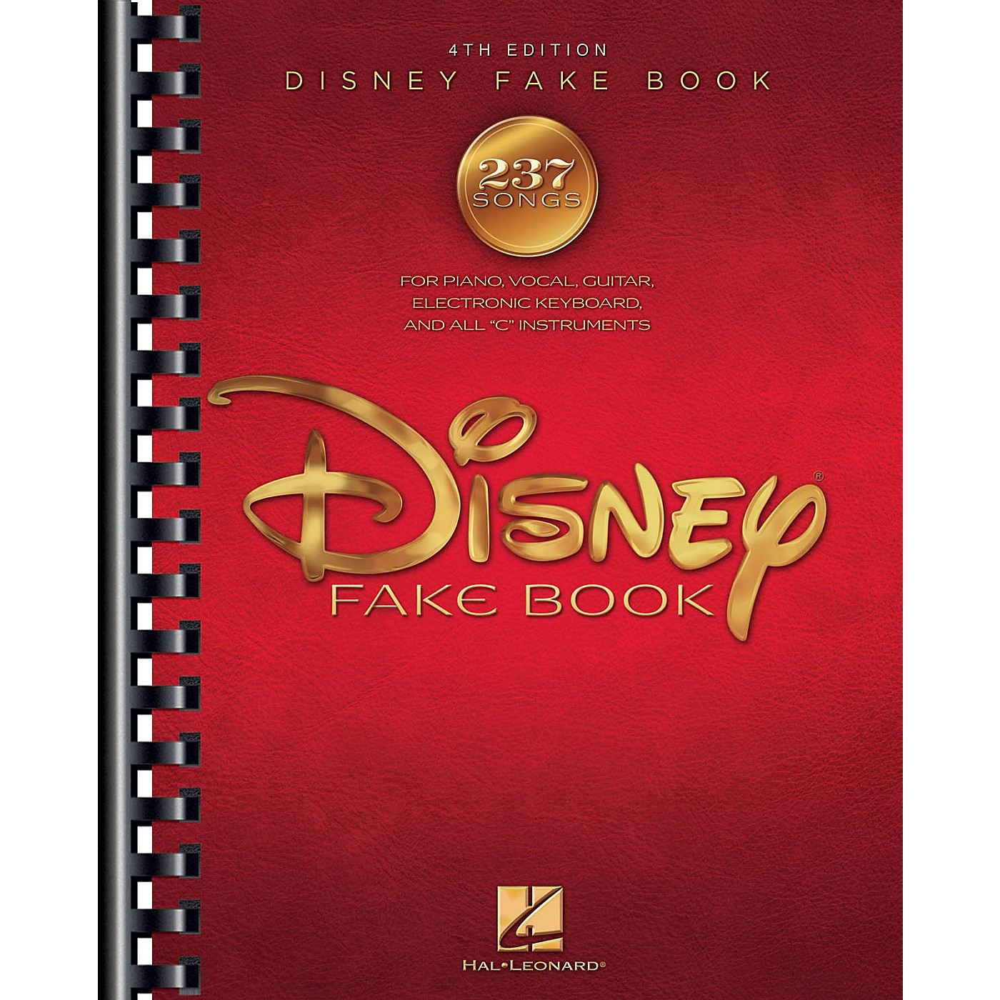 Hal Leonard The Disney Fake Book - 4th Edition Fake Book Series Softcover thumbnail