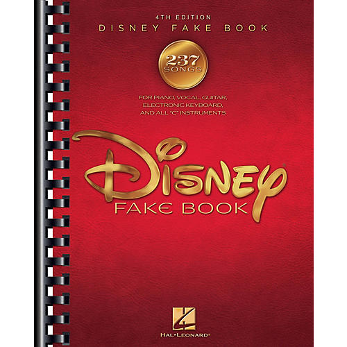 Hal Leonard The Disney Fake Book - 4th Edition Fake Book Series Softcover thumbnail