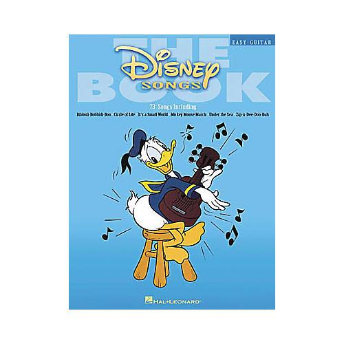 Hal Leonard The Disney Songs Easy Guitar Tab Songbook thumbnail