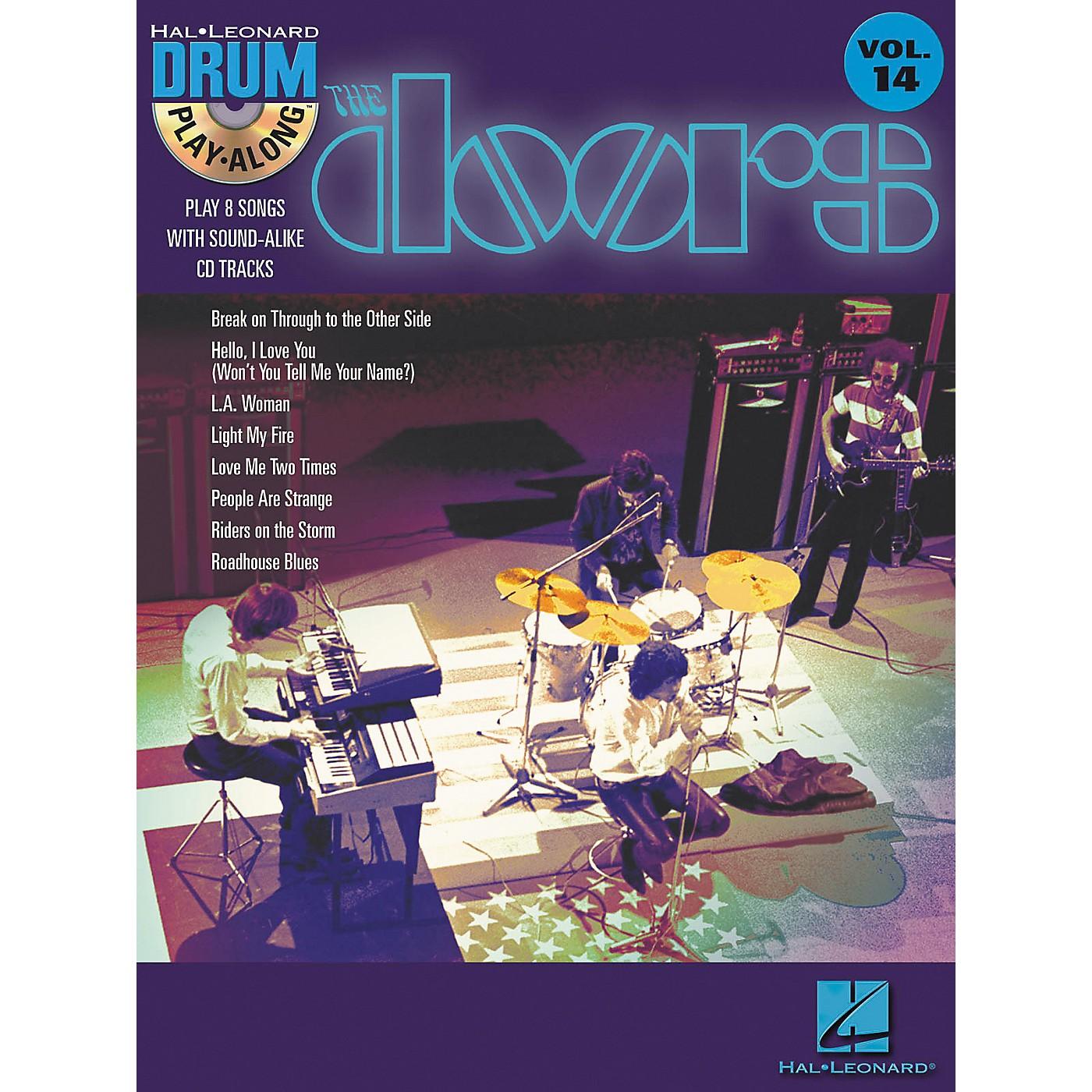 Hal Leonard The Doors - Drum Play-Along Volume 14 Book/CD Set thumbnail