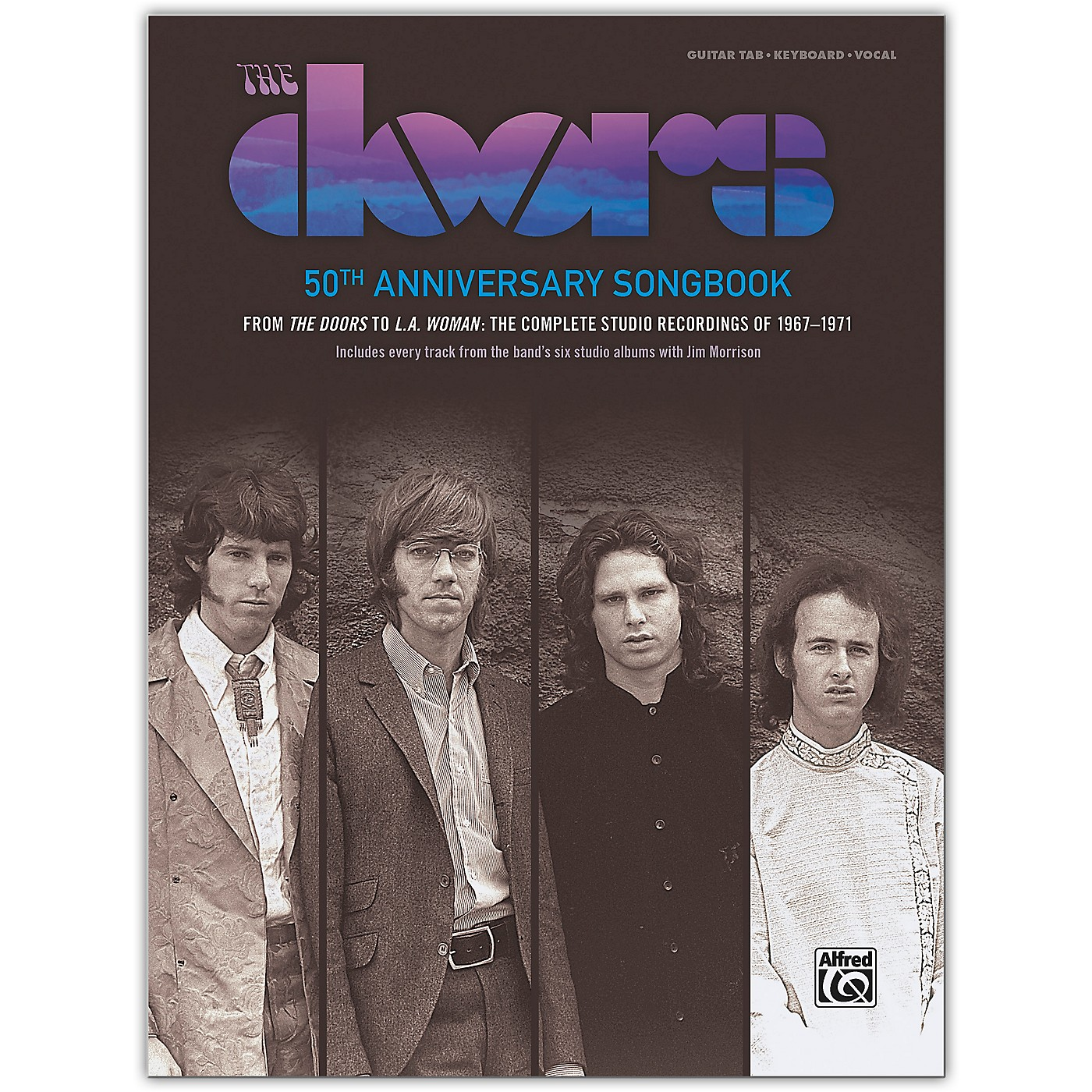 Alfred The Doors: 50th Anniversary Songbook Guitar Songbook Edition (Hardcover) thumbnail