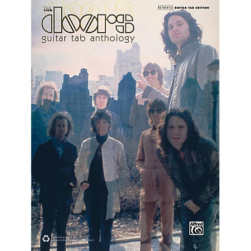 Alfred The Doors Guitar TAB Anthology Book thumbnail