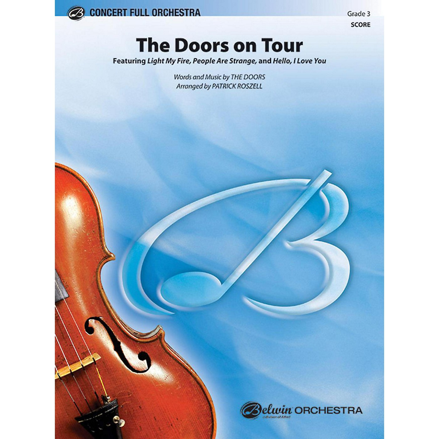 Alfred The Doors on Tour Full Orchestra Grade 3 thumbnail