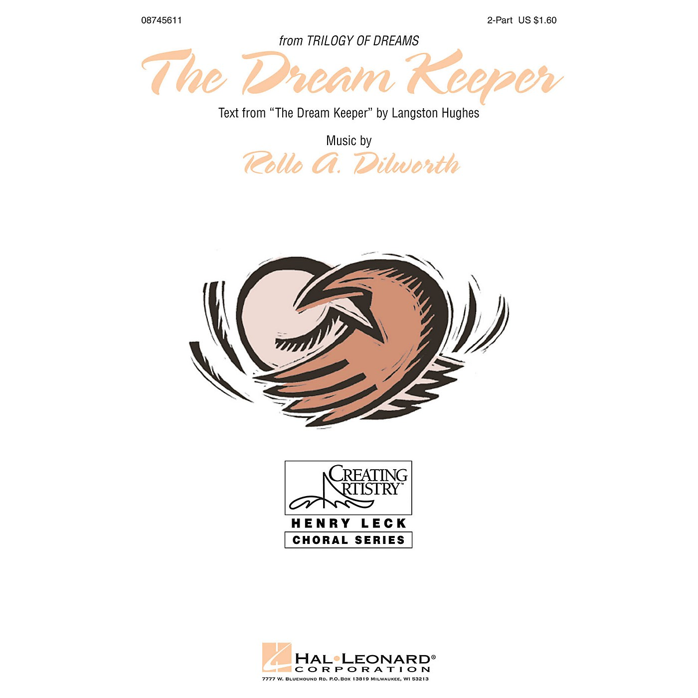 Hal Leonard The Dream Keeper (from A Trilogy of Dreams) 2-Part composed by Rollo Dilworth thumbnail