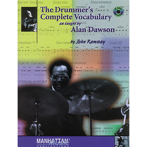 Alfred The Drummer's Complete Vocabulary As Taught by Alan Dawson Book & 2 CDs thumbnail