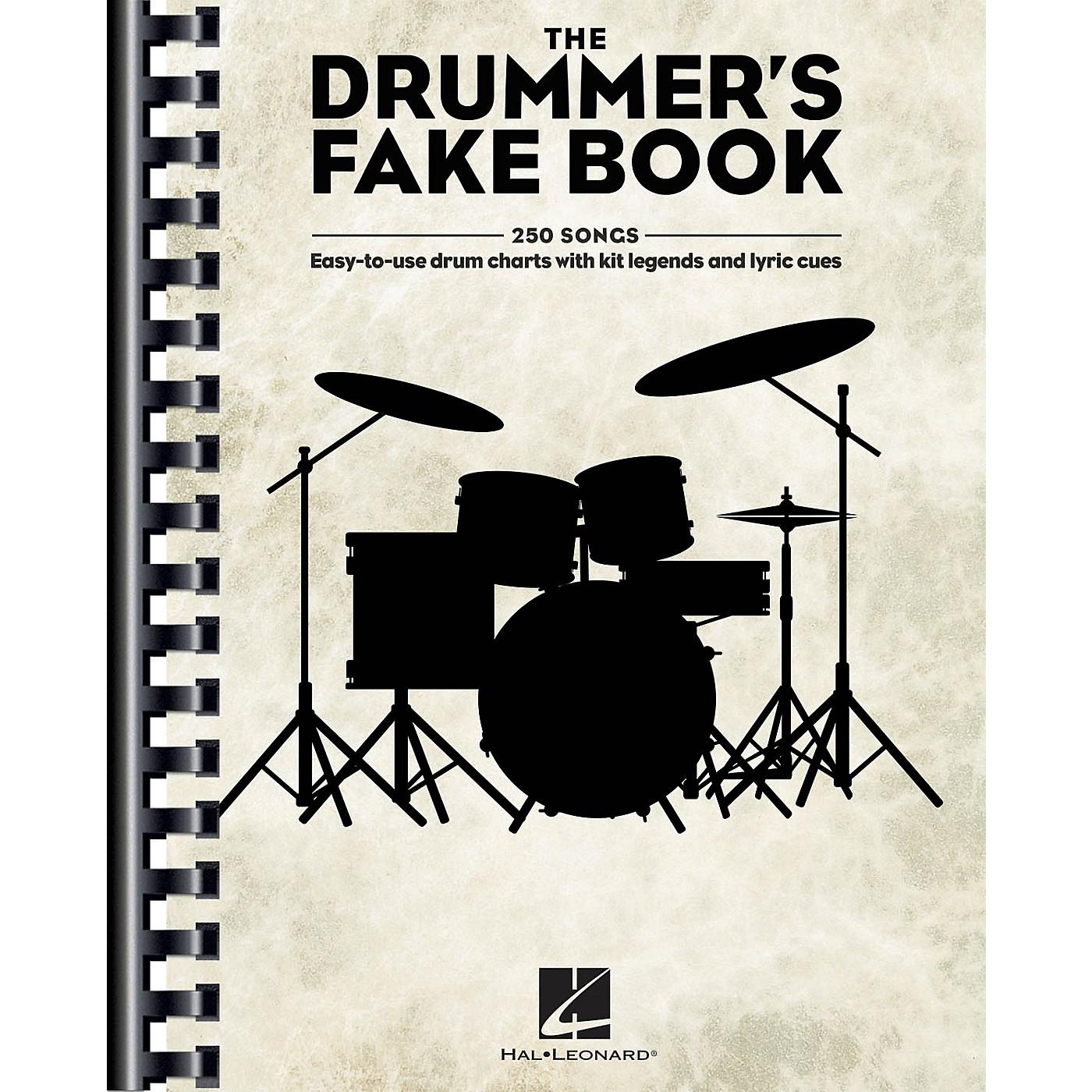 Hal Leonard The Drummer's Fake Book Drum Book thumbnail