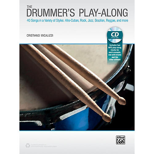 Alfred The Drummer's Play-Along - Book & CD thumbnail