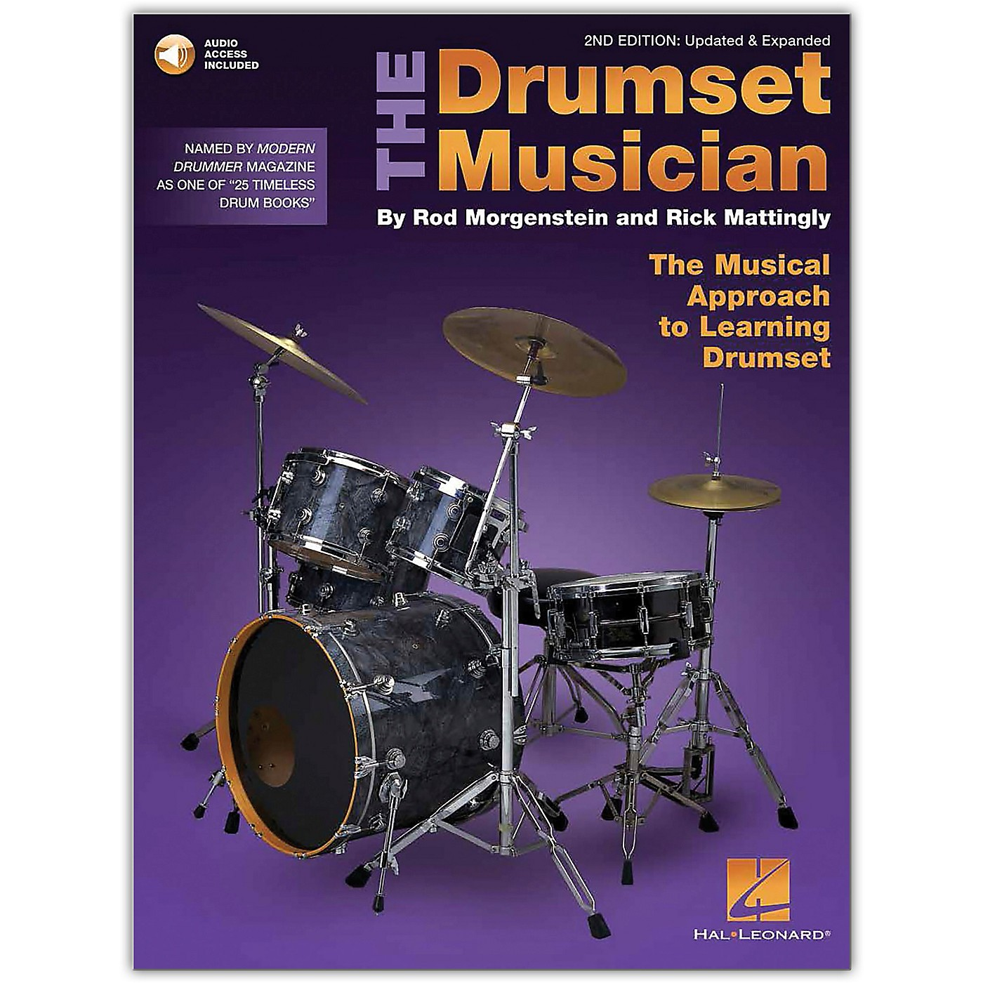 Hal Leonard The Drumset Musician - The Musical Approach to Learning Drumset 2nd Edition Book/Online Audio thumbnail