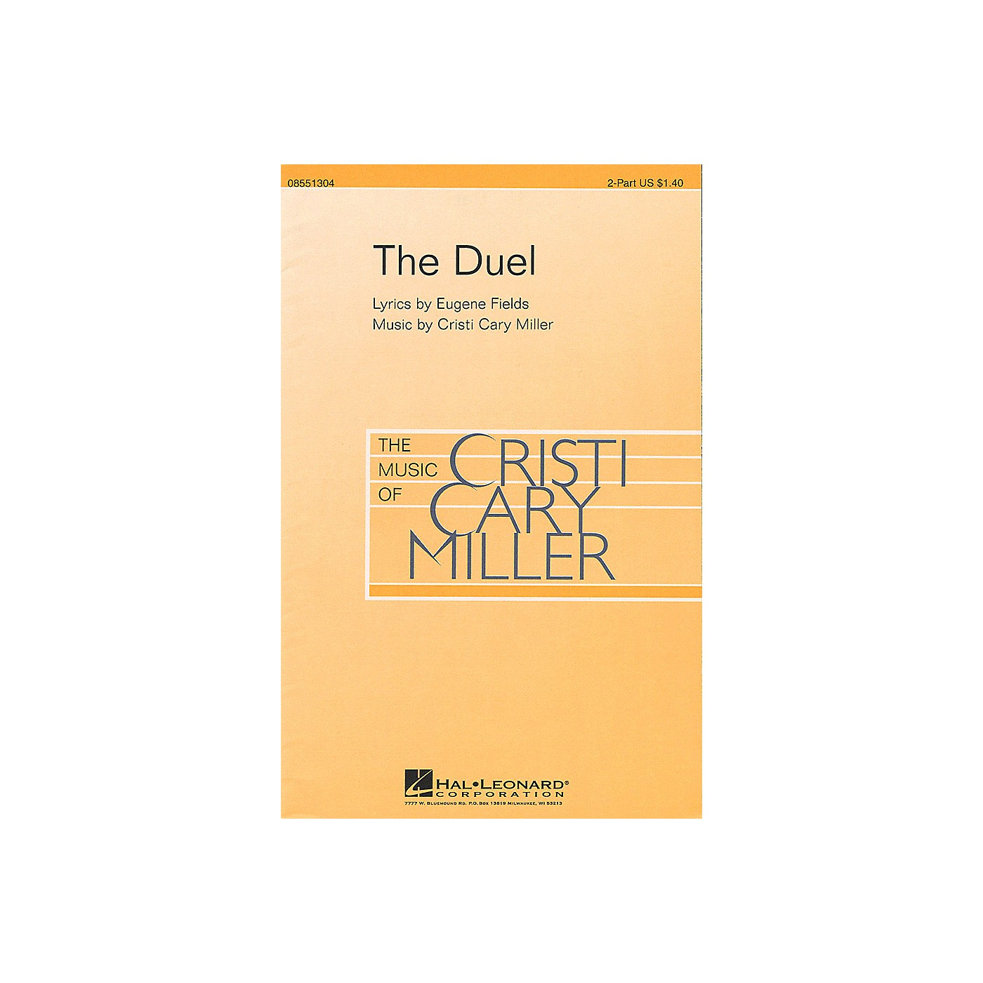 Hal Leonard The Duel 2-Part composed by Cristi Cary Miller thumbnail
