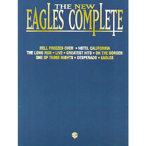 Hal Leonard The Eagles Complete Piano/Vocal/Chords thumbnail