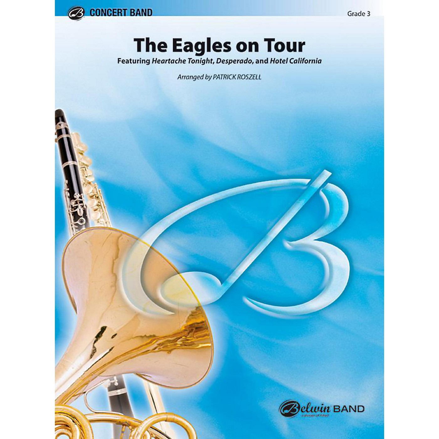 Alfred The Eagles on Tour Concert Band Level 3 Set thumbnail