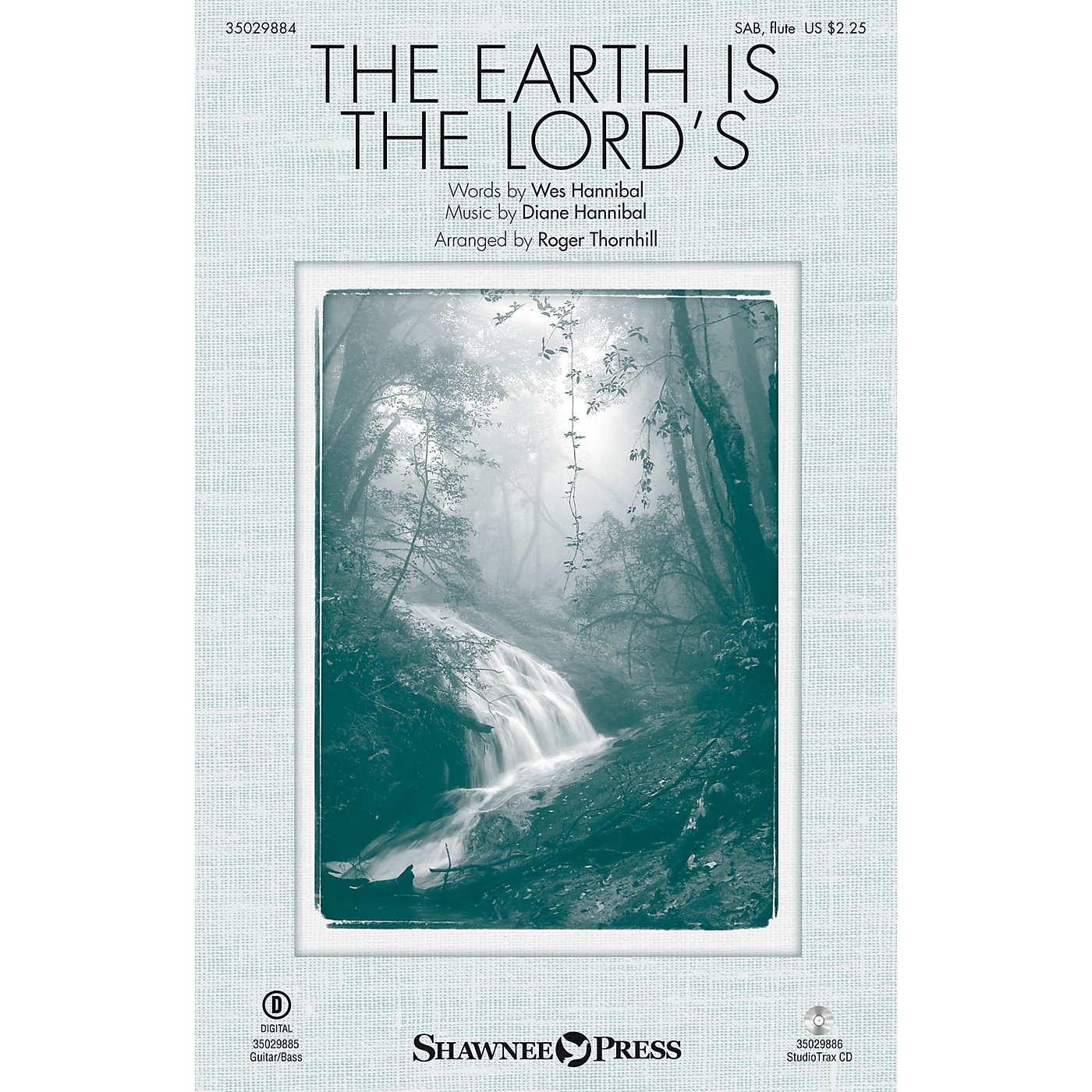 Shawnee Press The Earth Is the Lord's Studiotrax CD Arranged by Roger Thornhill thumbnail