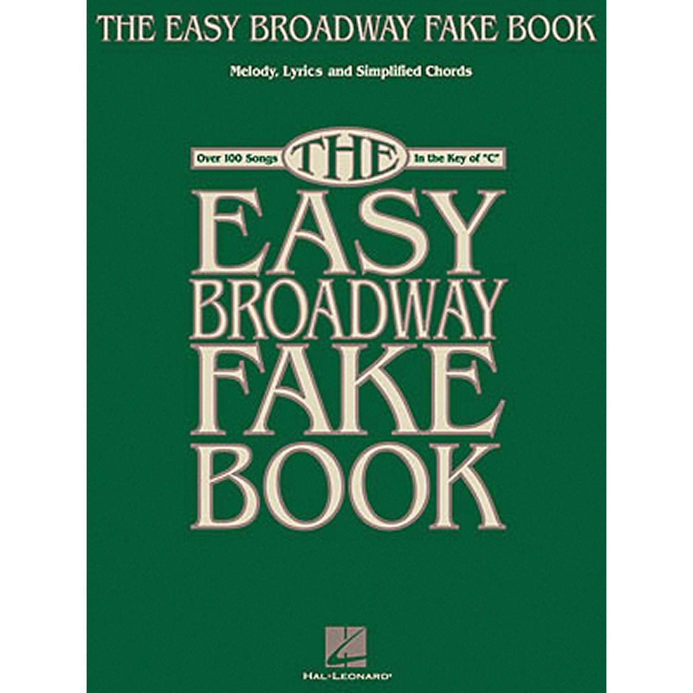 Hal Leonard The Easy Broadway Fake Book thumbnail